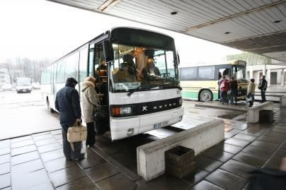 Policijos akiratyje – autobusai ir jų vairuotojai