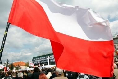 Prie Prezidentūros lenkai ir rusai reikalavo laisvės mokytis gimtąja kalba