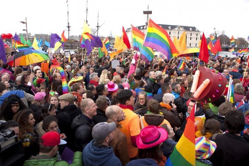 Dėl gėjų santuokų įstatymo projekto prancūzų parlamentarai susipešė
