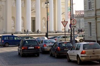 Įvažiavimas į Vilniaus senamiestį bus mokamas