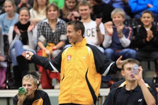 R.Berankis gali išaugti Lietuvos teniso rinktinės marškinėlius