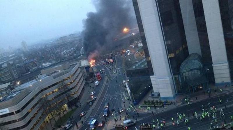 Londone sudužusio sraigtasparnio pilotas buvo filmų kaskadininkas