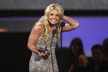 MTV apdovanojimuose triumfavo Britney Spears