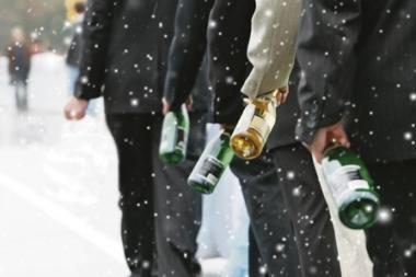 Ilgąjį savaitgalį alkoholis liejosi upeliais
