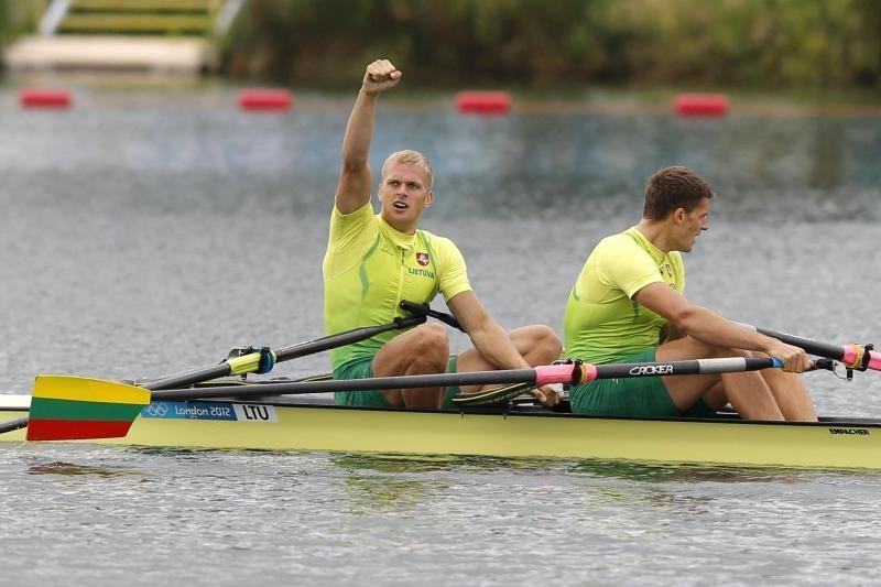 R.Maščinskas ir S.Ritteris olimpiadoje užėmė šeštąją vietą