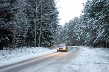 Vairuotojai dar nepasiruošę žiemai