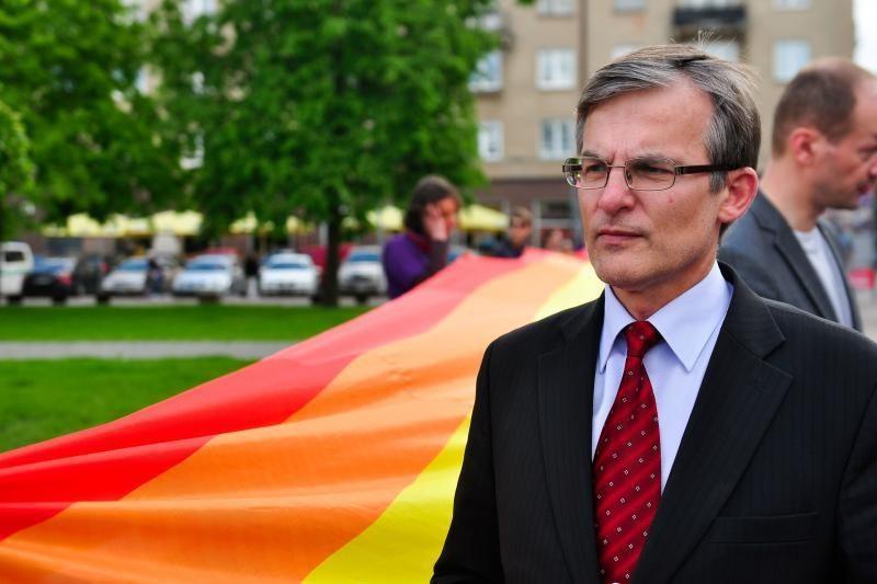 Parlamentarą J.Sabatauską apvogęs vilnietis apšvarino ir A.Salamakiną