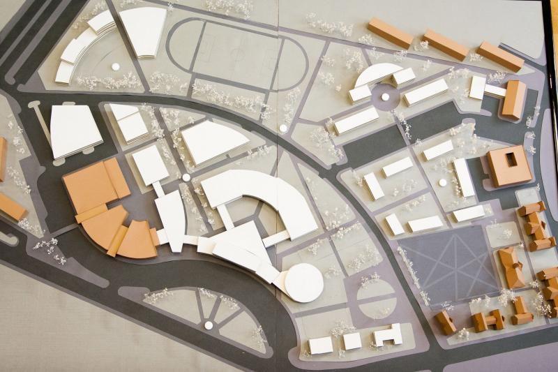 Klaipėdos universitete - statybos darbų pradžia