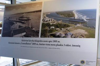 Jūrų uostas iš Klaipėdos atkeliauja į Vilnių