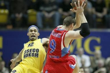 T.Pačėso komanda pakirto Maskvos CSKA