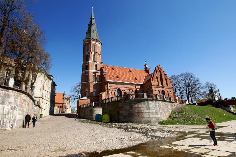 Prie Vytauto bažnyčios – dvokiantis upelis