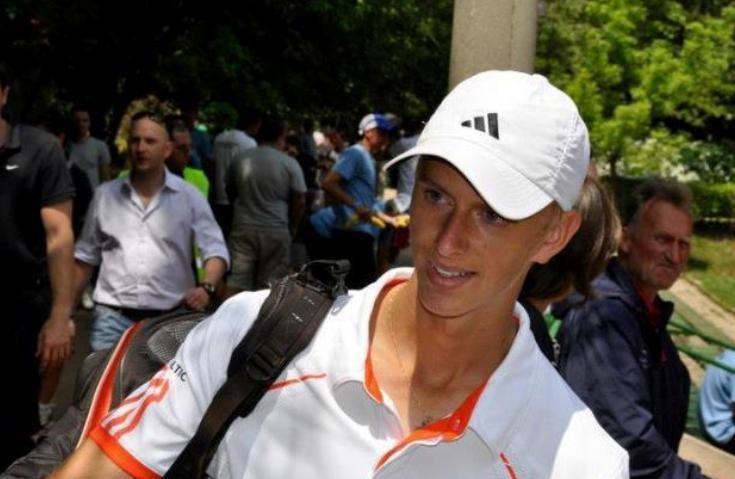 Tenisininkas L.Mugevičius Čekijos turnyre toli nenukeliavo