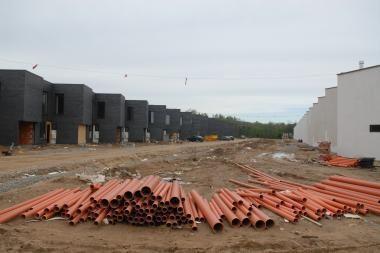 Klaipėdos apskrityje sulėtėjo namų statyba