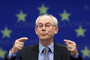 ES prezidentas: nepaisant sunkumų Graikijoje, euro zona išliks stabili