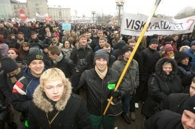 Per mitingą prie Seimo pareigūnų netruks