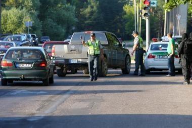 Klaipėdos policijos reidas: įkliuvo vienas neblaivus vairuotojas