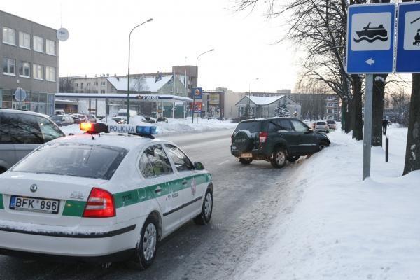 Vilniaus apskrityje per pusdienį užregistruota daugiau nei 60 eismo įvykių
