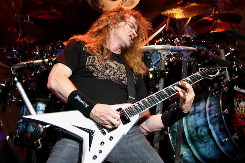 Dešimt skandalingų Dave'o Mustaine'o frazių