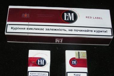 Oro filtruose - cigarečių kontrabanda