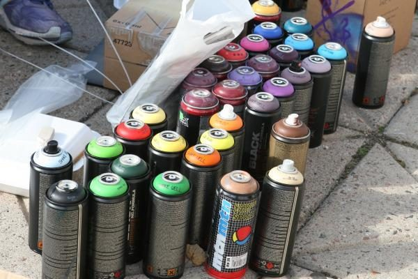 Aikštelė šalia Baltojo tilto bus papuošta graffiti