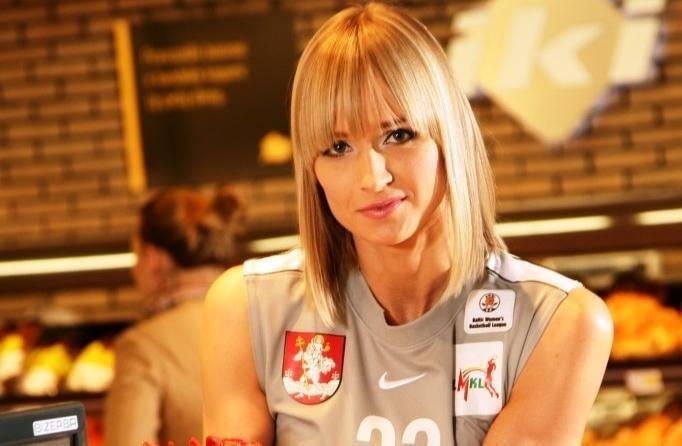 """""""Kibirkšties"""" kapitonė K. Vengrytė: noriu mėgautis krepšiniu"""