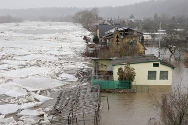 Panevėžiečiai prašo kompensuoti potvynio padarytą žalą