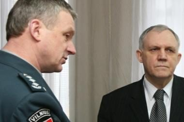 Kas vadovaus Vilniaus policijai - ne mūsų reikalas