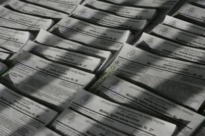 Skaičiuojami rinkimų pažeidimai