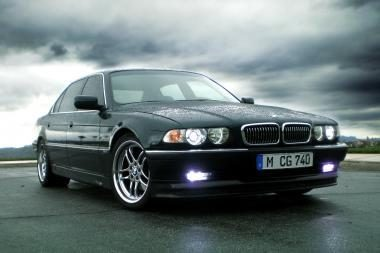 Automobilio apžvalga: 7 serijos BMW