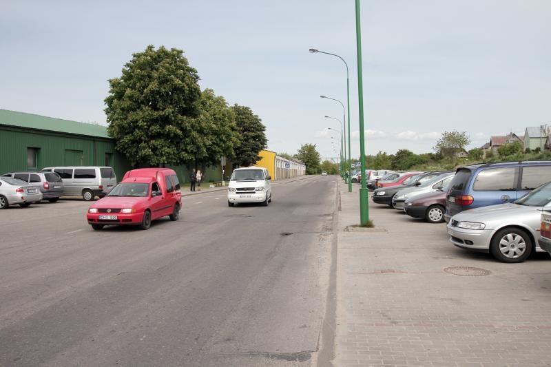 Joniškės gatvė remontui uždaroma šeštadienį