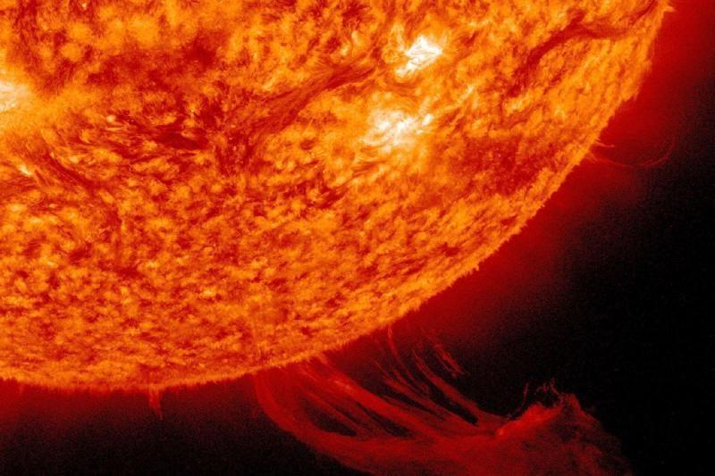 Saulės šėlsmas – NASA erdvėlaivių objektyvuose