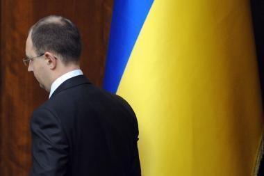 Ukrainos parlamento posėdis truko tik kelias minutes