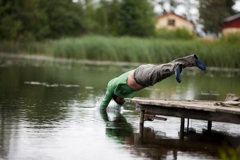 """""""Naisių vasaros"""" aktorių išbandymai: ežere – su drabužiais"""