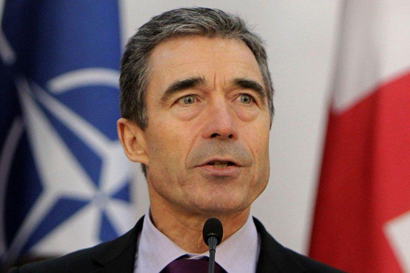 A.F.Rasmussenas susilaužė ranką ir atidėjo vizitą į Baltijos šalis