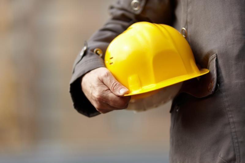 Uostamiesčio statybvietėje - skaudi nelaimė