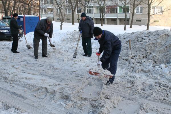 """Uostamiestyje – akcija """"Klaipėda be sniego"""""""