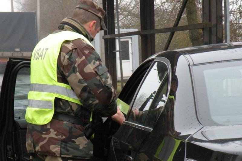 Pasieniečių sulaikytam vairuotojui nustatytas 4,46 promilės girtumas