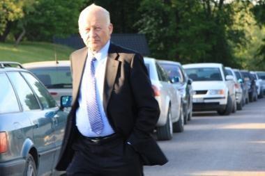 Sostinės meras į darbą atvyko pėsčiomis
