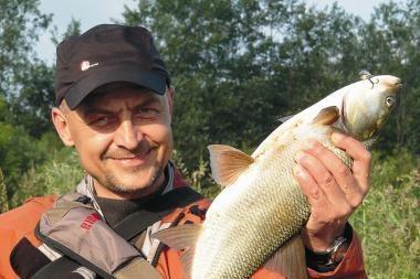 Žvejyba neiškėlus kojos iš Kauno