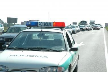 Savaitgalį - policijos reidas vienoje iš apskričių