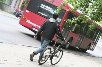 Vyksta apklausa dėl dviračių takų