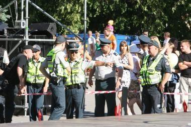 Jūros šventėje policija gaudys kišenvagius