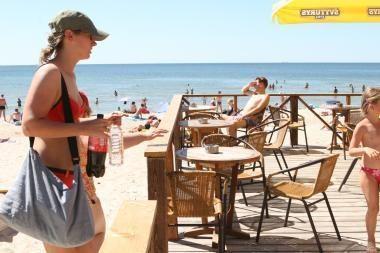 Prekyba paplūdimyje – be jokių naujovių