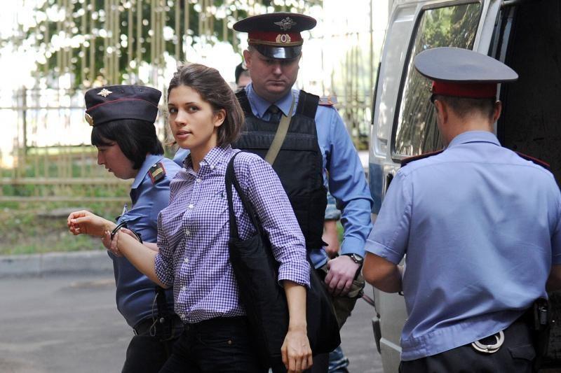 """Rusijoje baigiama nagrinėti """"Pussy Riot"""" narių byla"""