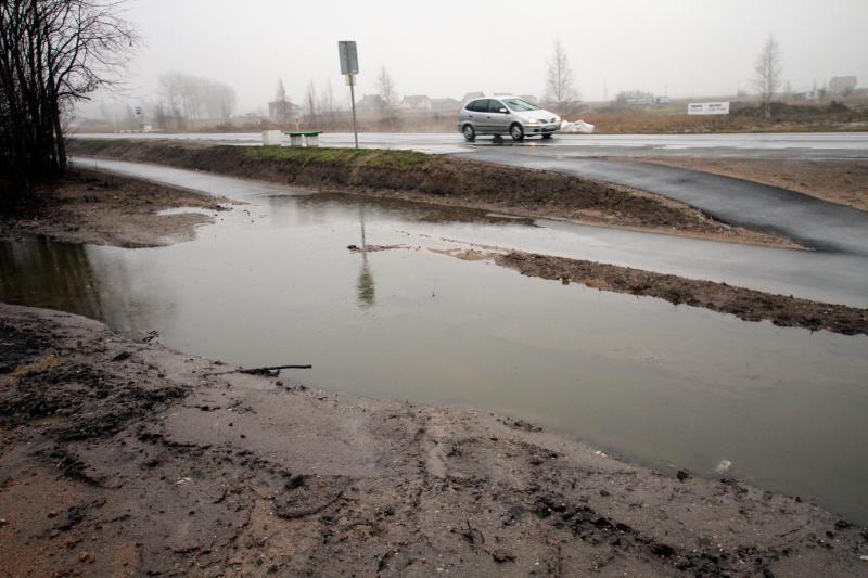 Pagėgių savivaldybė dėl potvynio svarsto skelbti ekstremalią situaciją