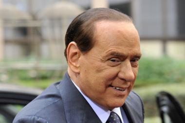 S.Berlusconis: mano nuvertimas būtų