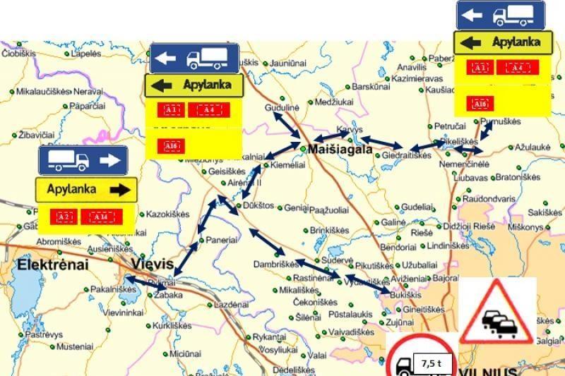 Vilniaus Geležinio Vilko gatvėje bus ribojamas eismas