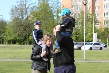 Vilniuje šeimoms organizuojamos šiukšlių rūšiavimo varžybos