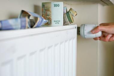 Kauniečiai brangiau už šildymą mokės nuo sausio