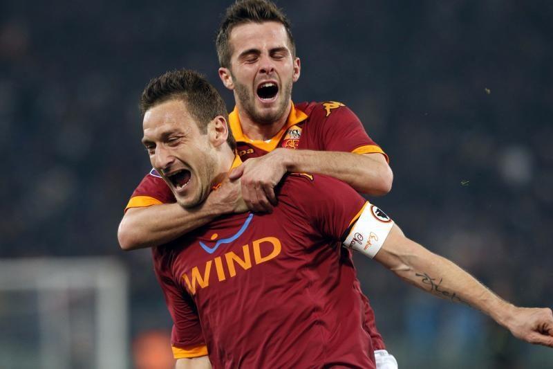 """Italijos grandų akistata: """"Milan"""" - """"Roma"""" (apžvalga)"""